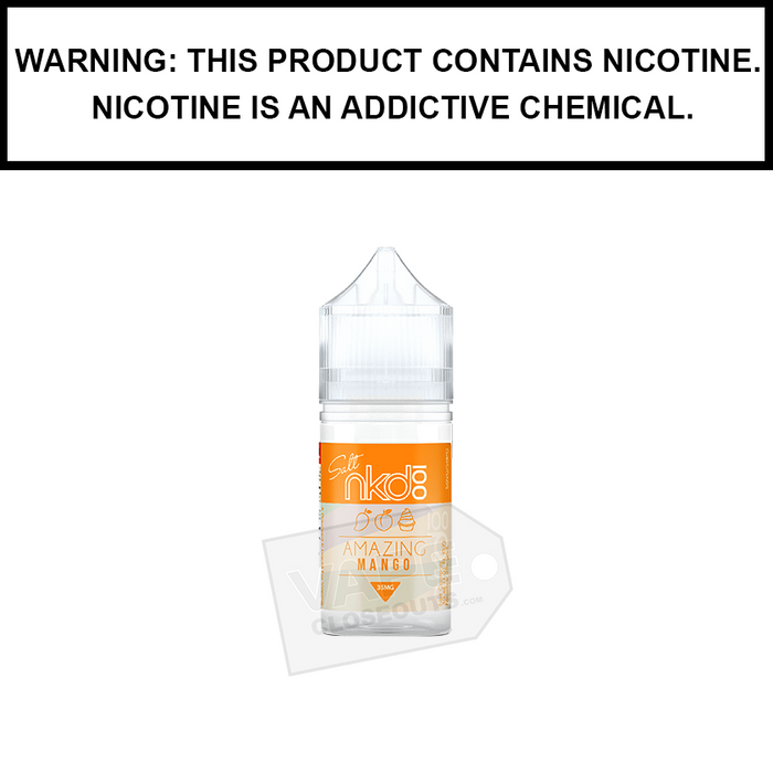Naked 100 | Amazing Mango - Salt Nic eJuice (30ml)