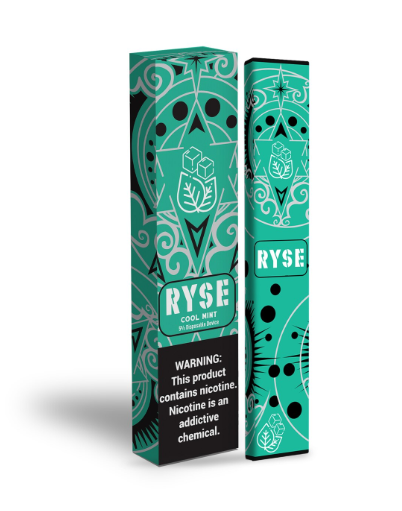 Ryse Disposable E-Cigs (30-Pack) - COOL MINT ONLY