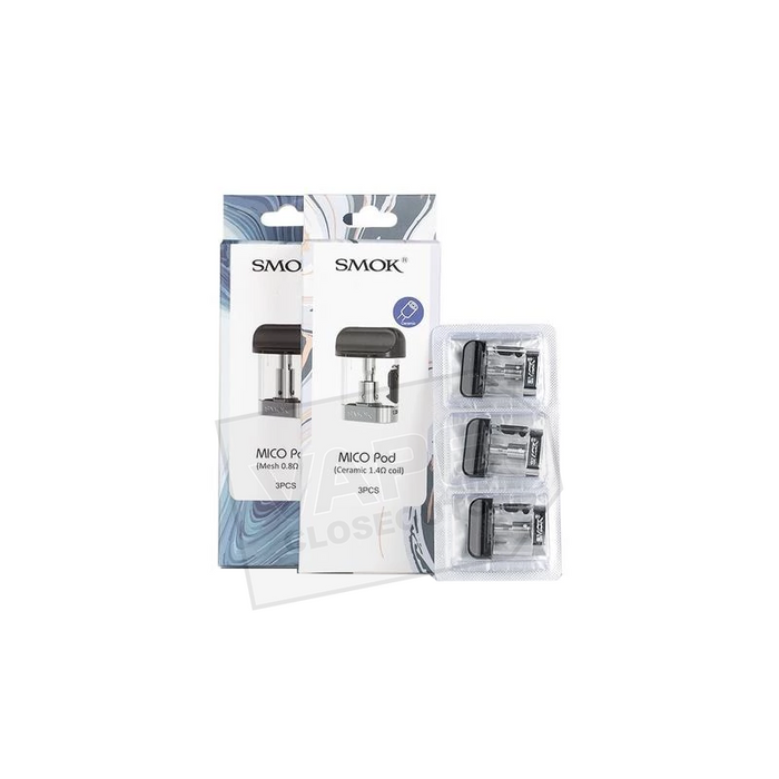 SMOK MICO REPLACEMENT POD CARTRIDGES (3 PACK)