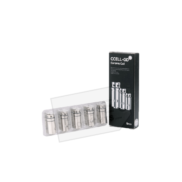 Vaporesso CCELL-GD Ceramic Replacement Coils (5 Pack)
