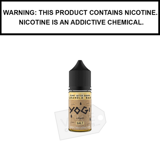 Yogi | Peanut Butter Banana Granola Bar - Salt Nic eJuice (30ml)