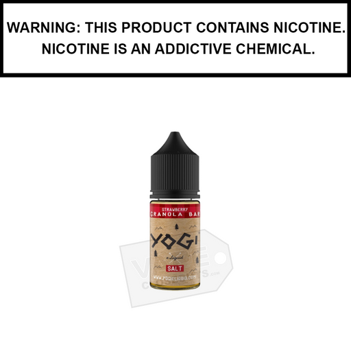 Yogi | Strawberry Granola Bar - Nic Salt eJuice (30ml)