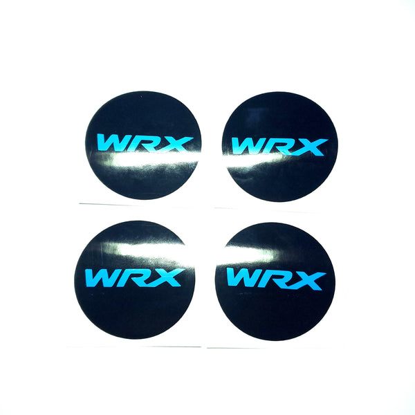 WRX WHEEL CENTER CAP OVERLAYS