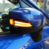 SEQUENTIAL LED MIRROR TURN SIGNALS