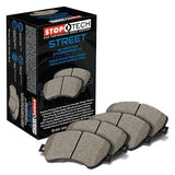 STOPTECH STREET PERFORMANCE BRAKE PADS - FRONT - 11-14 WRX,13-20 BRZ, 11-13 FXT