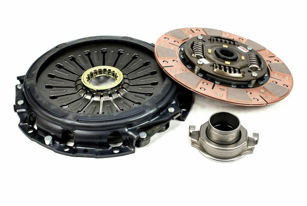 COMPETITION CLUTCH STAGE 3 SEGMENTED CERAMIC CLUTCH KIT WITH FLY WHEEL - 06-14 WRX, 05-09 LGT, 06-08 FXT