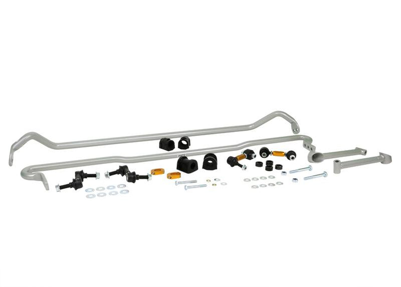 WHITELINE SWAY BAR KIT - 26MM FRONT ADJUSTABLE - 22MM REAR ADJUSTABLE WITH END LINKS - 15-20 STI