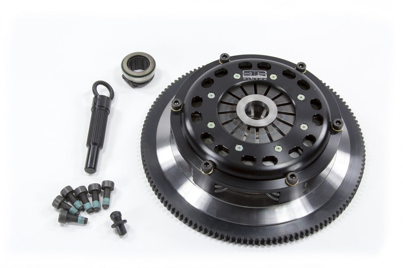 COMPETITION CLUTCH STAGE 3 MULTIPLATE RIGID TWIN ORGANIC CLUTCH KIT WITH FLY WHEEL - 04-20 STI