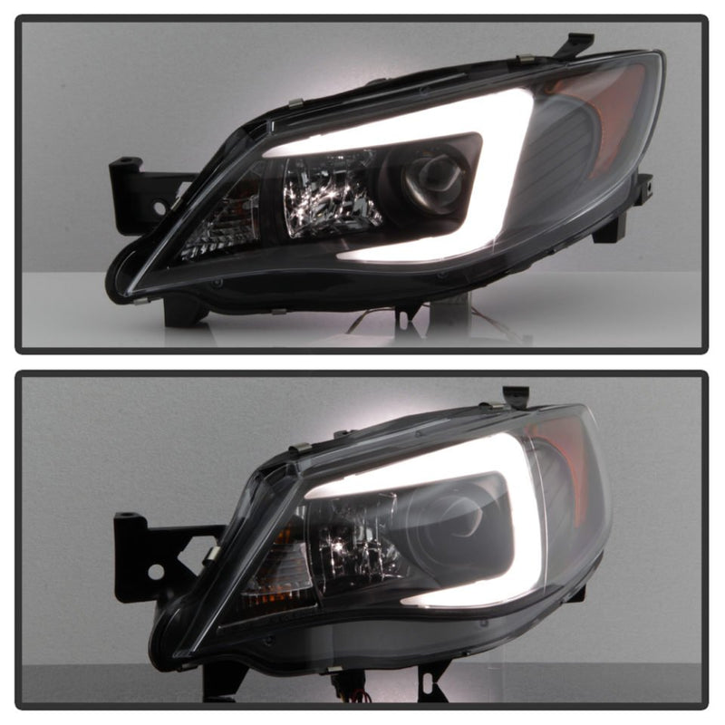 SPYDER PROJECTOR HEADLIGHTS - 08-14 WRX, 08-14 STI