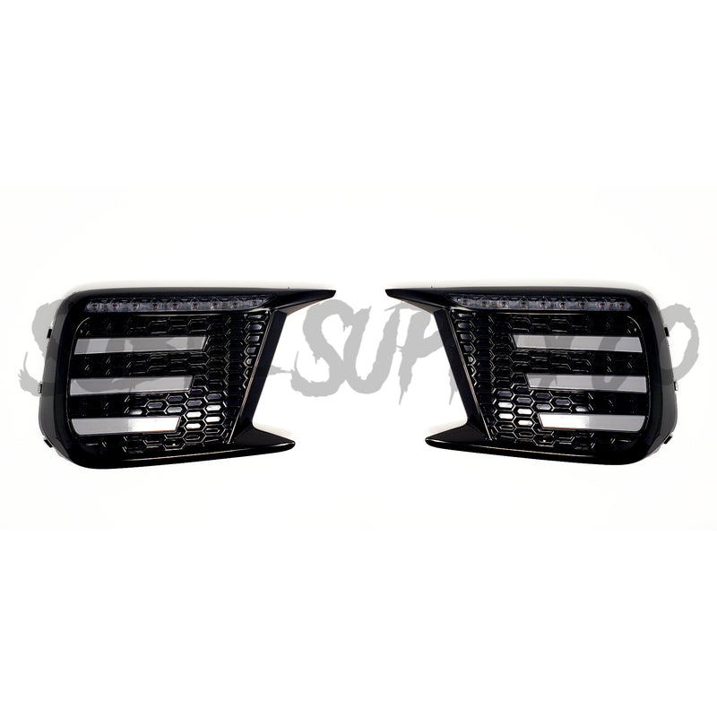 SSC LED SEQENTIAL FOG LIGHT BEZELS - 2018+ WRX/STI