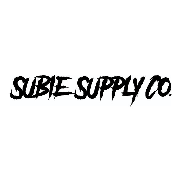 SUBIE SUPPLY CO DECAL