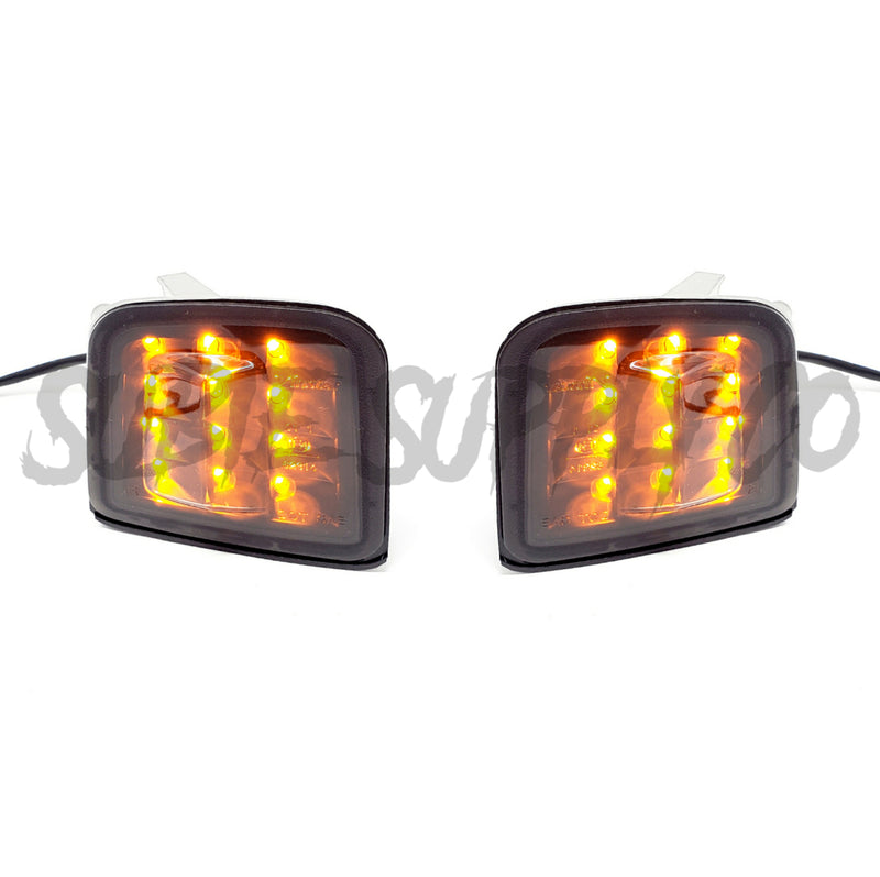 SSC SEQUENTIAL LED FRONT TURN SIGNALS - SMOKED LENSE - 2015 + WRX/STI