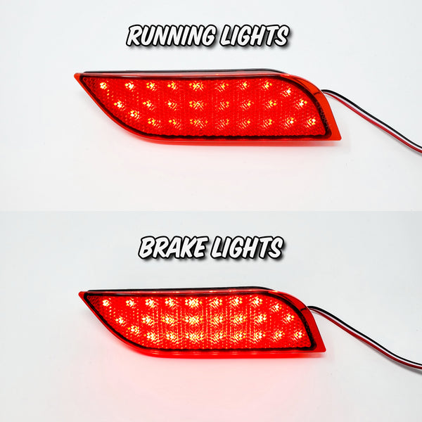 26 LED REAR BUMPER CORNER/BRAKE LIGHTS