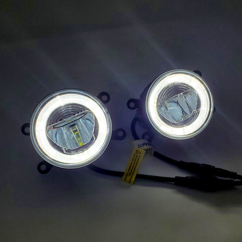 SSC LED FOG LAMPS WITH DRL HALOS - 15+ WRX/STI, 13-16 CROSSTREK, 13-16 BRZ,14-18 FORESTER