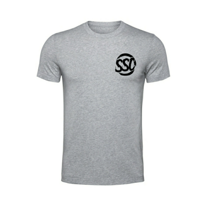 SUBIE SUPPLY CO T-SHIRT - CLASSIC - GREY/BLACK