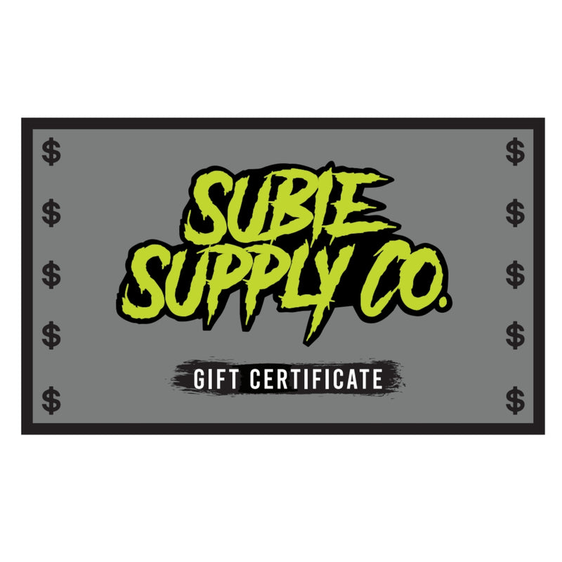 SUBIE SUPPLY CO GIFT CARD