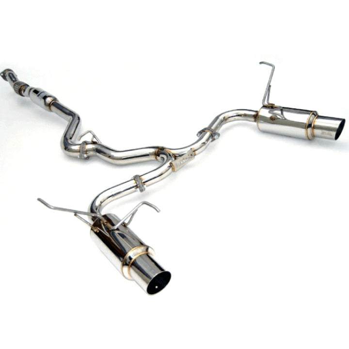 INVIDIA N1 STAINLESS STEEL DUAL EXIT EXHAUST - 15-20 STI, 15-20 WRX
