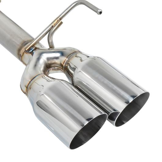 REMARK STAINLESS STEEL AXLE BACK EXHAUST - POLISHED SINGLE WALL 4 INCH TIPS - 2015+ WRX, 2015+ STI