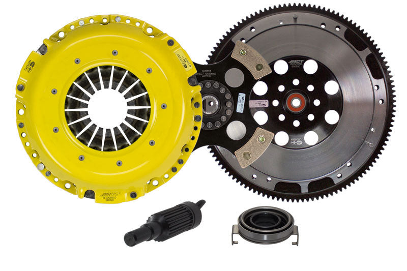 ACT HEAVY DUTY RACE RIGID 4-PUCK CLUTCH KIT WITH FLYWHEEL - 06-20 WRX, 05-09 OUTBACK, 04-08 FXT