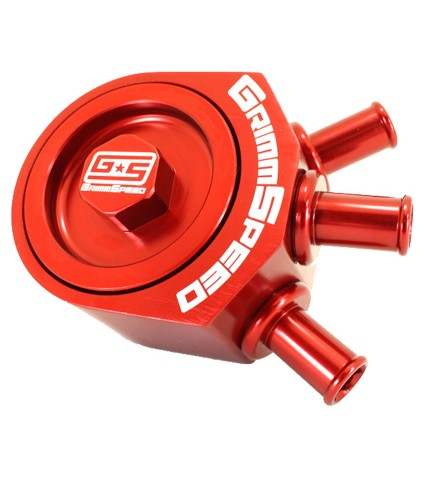 GRIMMSPEED AIR OIL SEPERATOR - 08-14 WRX, 05-12 LGT