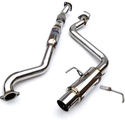 INVIDIA N1 CATBACK SINGLE EXIT EXHAUST - 08-11 IMPREZA SEDAN