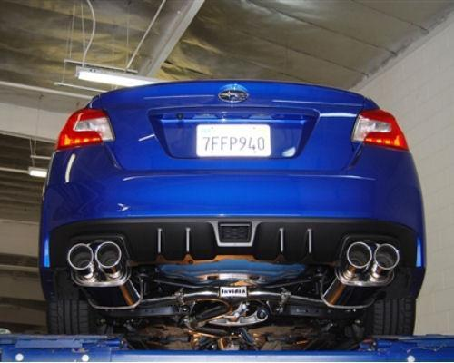 INVIDIA Q300 STAINLESS STEEL EXHAUST - 15-20 STI, 15-20 WRX