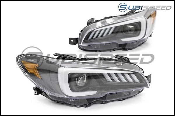 SUBISPEED DRL SEQUENTIAL LED HEADLIGHTS - 2015-2017 WRX & STI, 2018-2020 WRX BASE AND PREMIUM