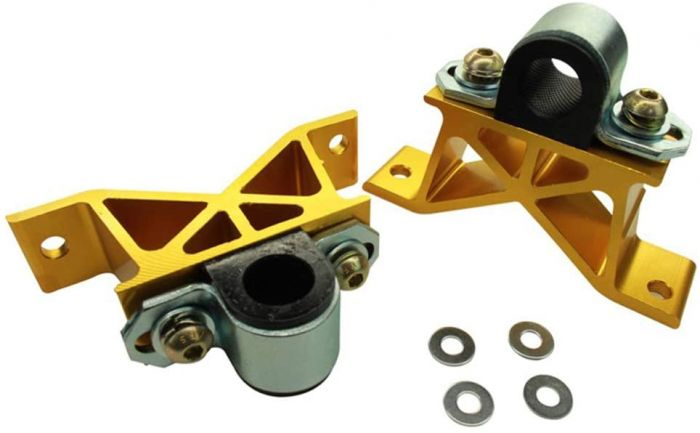 WHITELINE FORGED ALUMINUM SWAY BAR MOUNTS - 22MM - 02-07 WRX , 04-07 STI