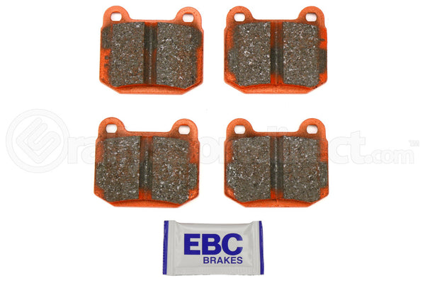 EBC ORANGESTUFF RACE BRAKE PADS - REAR - 04-17 STI