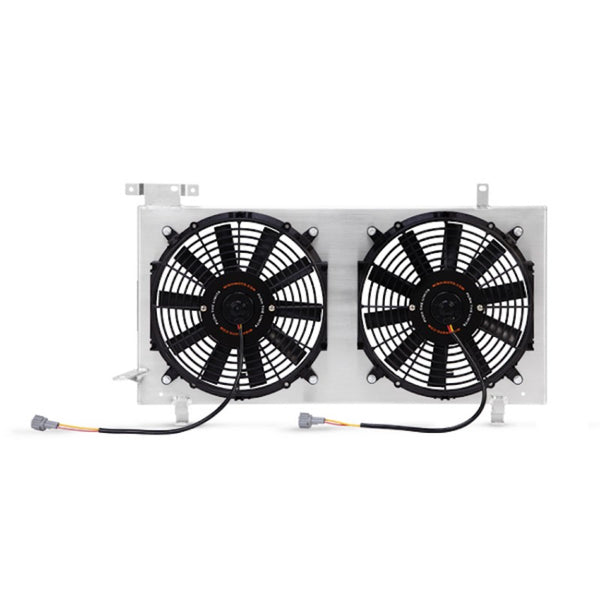 MISHIMOTO PLUG AND PLAY ALUMINUM FAN SHROUD KIT - 08-14 WRX, 08-20 STI