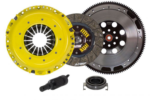 ACT HEAVY DUTY PERFORMANCE STREET DISC CLUTCH KIT WITH FLYWHEEL - 06-20 WRX, 05-12 LGT, 05-09 OUTBACK XT, 06-08 FXT