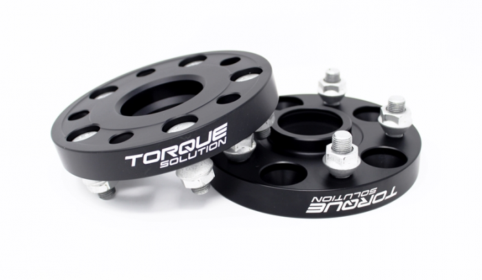 TORQUE SOLUTIONS FORGED HUBCENTRIC WHEEL SPACERS - 5X114.3 - 25MM