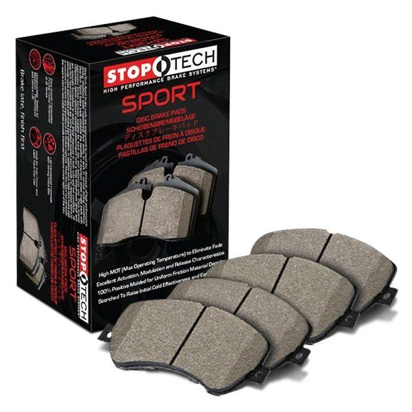 STOPTECH SPORT PERFORMANCE BRAKE PADS - REAR - 04-05 WRX, 04-05 2.5 RS
