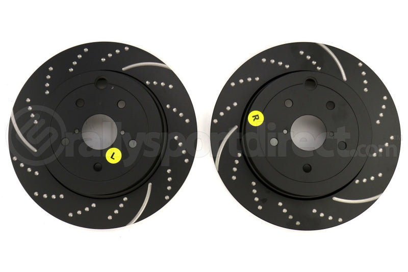 EBC 3GD SERIES SPORT DRILLED AND SLOTTED ROTOR - REAR - 05-17 STI