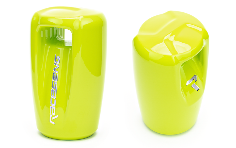 RACESENG VISION LIMITED EDITION SHIFT KNOB - NEON YELLOW - M12X1.25mm
