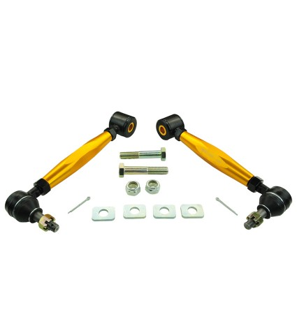 WHITELINE REAR ADJUSTABLE TOE ARMS - 08-20 WRX, 08-20 STI, 13-20 BRZ, 09-17 FORESTER
