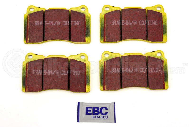 EBC YELLOWSTUFF STREET AND TRACK BRAKE PADS - FRONT - 04-17 STI