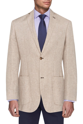 Natural colour Linen Jacket