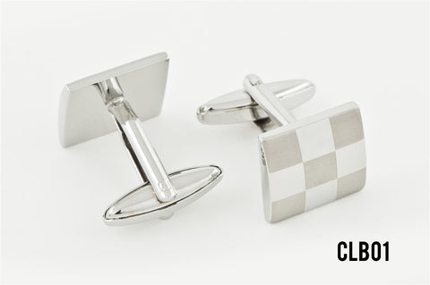 Cufflinks - CLBO1 Checkerboard