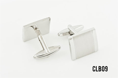 Cufflinks - CLBO9 Contrast Rectangle