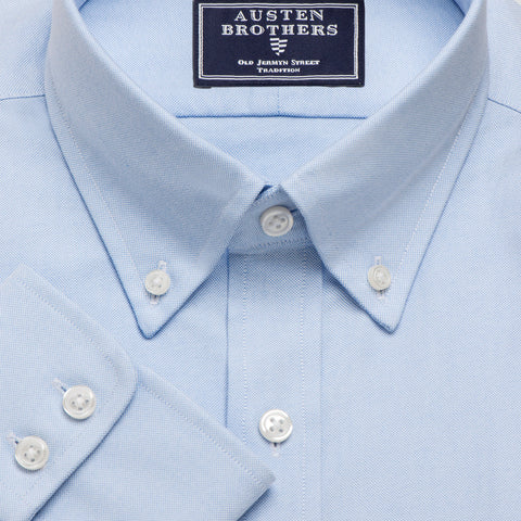 Made 2 Order - Blue Hyde Park Oxford Pinpoint NEW COLLECTION