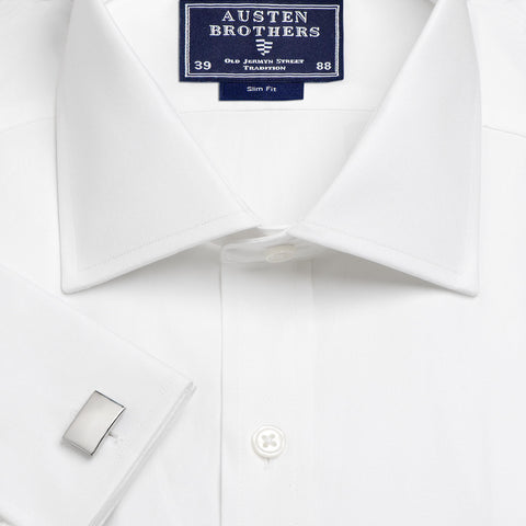 Made 2 Order - White Royal Oxford Pinpoint Shirt