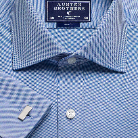 Made 2 Order - Navy Royal Oxford Pinpoint