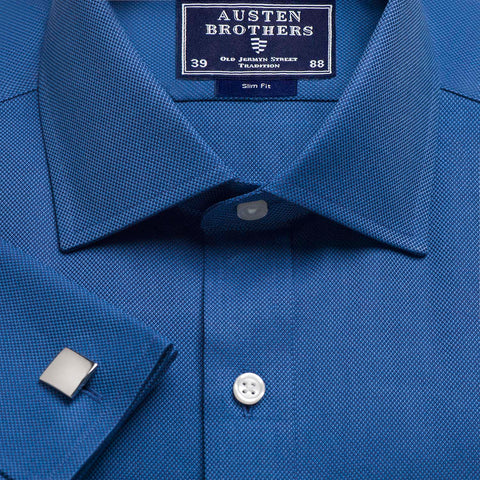 Made 2 Order - Blue Royal Oxford Pinpoint
