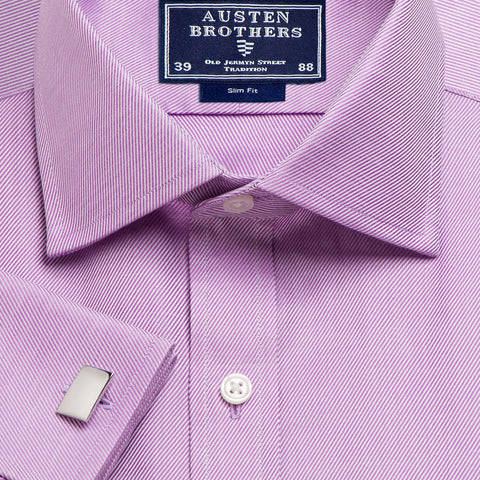 Made 2 Order - A Solid Purple Royal Twill