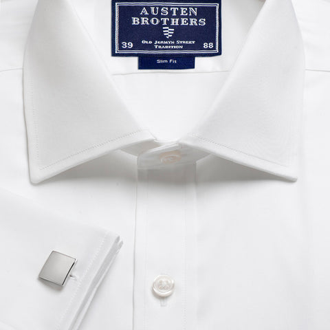 Made 2 Order - A SATEEN White Shirt