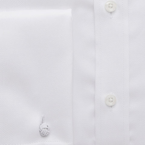 Ready Made - White Royal Oxford Shirt - Slim Fit