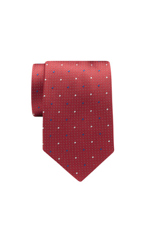 TIE – Red Dot Pattern