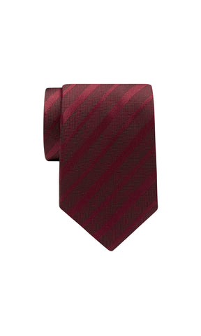 TIE – Dark Red Stripe