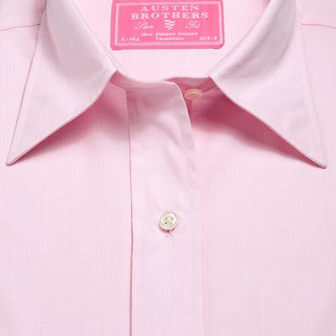 Made 2 Measure - PINK PINPOINT OXFORD